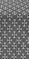 Petrograd metallic brocade (black/silver)
