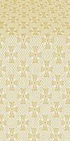 Petrograd metallic brocade (white/gold)
