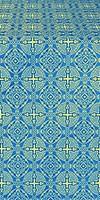 Murom silk (rayon brocade) (blue/gold)