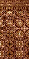 Murom silk (rayon brocade) (claret/gold)
