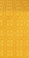 Murom silk (rayon brocade) (yellow/gold)