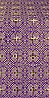 Mourom metallic brocade (violet/gold)