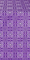 Mourom metallic brocade (violet/silver)