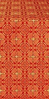 Mourom metallic brocade (red/gold)