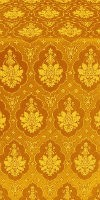 Chernigov silk (rayon brocade) (yellow/gold)