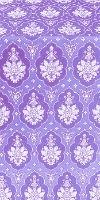 Chernigov silk (rayon brocade) (violet/silver)