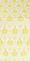 Chernigov silk (rayon brocade) (white/gold)