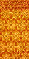 Smolensk silk (rayon brocade) (yellow/gold)