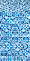 Ostrozh metallic brocade (blue/silver)
