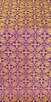 Ostrozh metallic brocade (violet/gold)