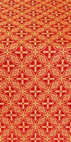 Ostrozh metallic brocade (red/gold)