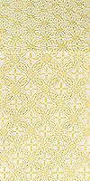 Ostrozh silk (rayon brocade) (white/gold)