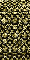 Loza metallic brocade (black/gold)