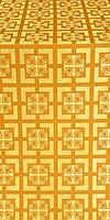 Cappadocia silk (rayon brocade) (yellow/gold)