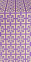 Cappadocia silk (rayon brocade) (violet/gold)