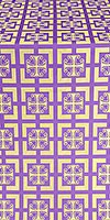 Cappadocia metallic brocade (violet/gold)