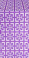 Cappadocia silk (rayon brocade) (violet/silver)