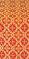 Nikolaev metallic brocade (red/gold)