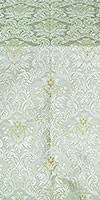 Eleon Bouquet metallic brocade (white/silver)