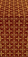 Lyubava metallic brocade (claret/gold)