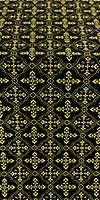 Lyubava metallic brocade (black/gold)