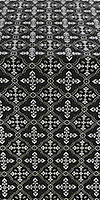 Lyubava metallic brocade (black/silver)