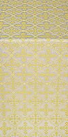 Lyubava metallic brocade (white/gold)