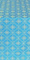 Lavra metallic brocade (blue/gold)