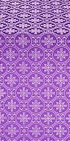 Lavra metallic brocade (violet/silver)