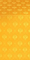 Russian Eagle metallic brocade (yellow/gold)