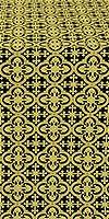 Elizabeth metallic brocade (black/gold)