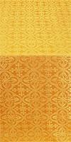 Elizabeth silk (rayon brocade) (yellow/gold)
