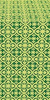 Elizabeth metallic brocade (green/gold)