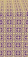 Elizabeth silk (rayon brocade) (violet/gold)