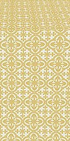 Elizabeth metallic brocade (white/gold)