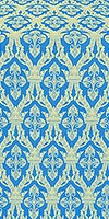 Korona silk (rayon brocade) (blue/gold)