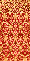 Korona metallic brocade (red/gold)