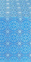 Corinth metallic brocade (blue/silver)