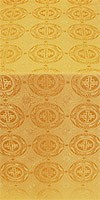 Corinth silk (rayon brocade) (yellow/gold)