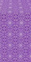 Corinth silk (rayon brocade) (violet/silver)