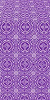 Corinth metallic brocade (violet/silver)