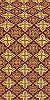 Vera metallic brocade (claret/gold)