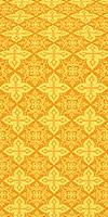 Vera silk (rayon brocade) (yellow/gold)