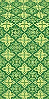 Vera metallic brocade (green/gold)