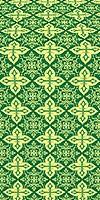 Vera metallic brocade (green/gold)