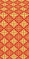 Vera metallic brocade (red/gold)