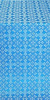 Cornflower metallic brocade (blue/silver)