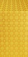 Perezvon silk (rayon brocade) (yellow/gold)