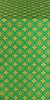 Mira Lycia metallic brocade (green/gold)