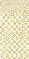 Mira Lycia metallic brocade (white/gold)